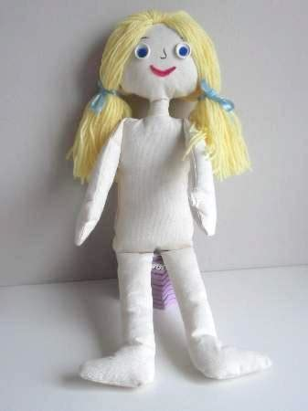 rag doll with zips how to make doll clothes