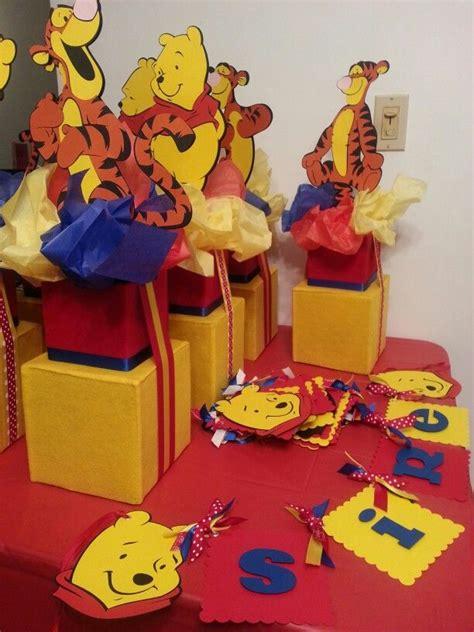 winnie the pooh centerpiece ideas winnie the pooh centerpieces everything pooh d