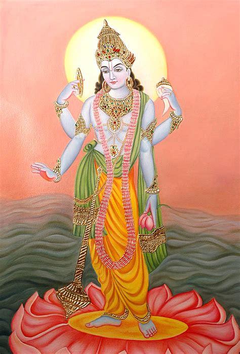 lord vishnus shri narayan lord vishnu