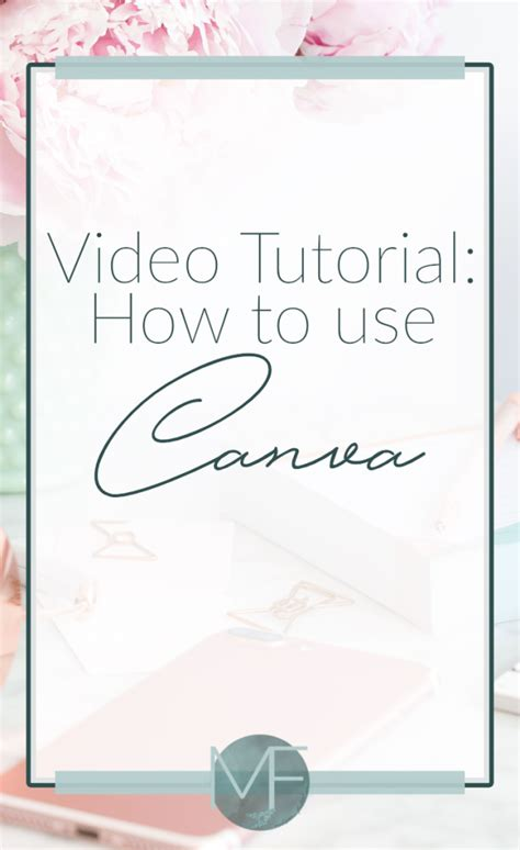canva video tutorial how to use canva video tutorial madison fichtl