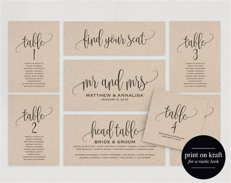 Wedding Seating Name Cards Template by 1000 Ideas About Table Seating Chart On