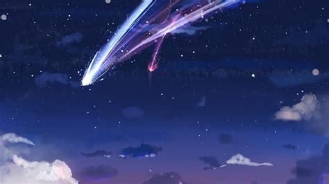 Kaos Kimi No Na Wa Your Name Sky Hobiku Anime Store 2560x1440 kimi no na wa your name clouds