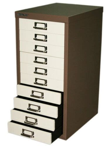 Bisley 10 Drawer Filing Cabinet Bisley 10 15 Drawer Multidrawer A4 Filing Storage Cabinet Unit Colour Choice Ebay