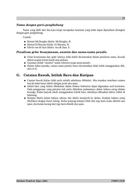 format makalah ugm contoh daftar pustaka referensi dari internet obtenez livre