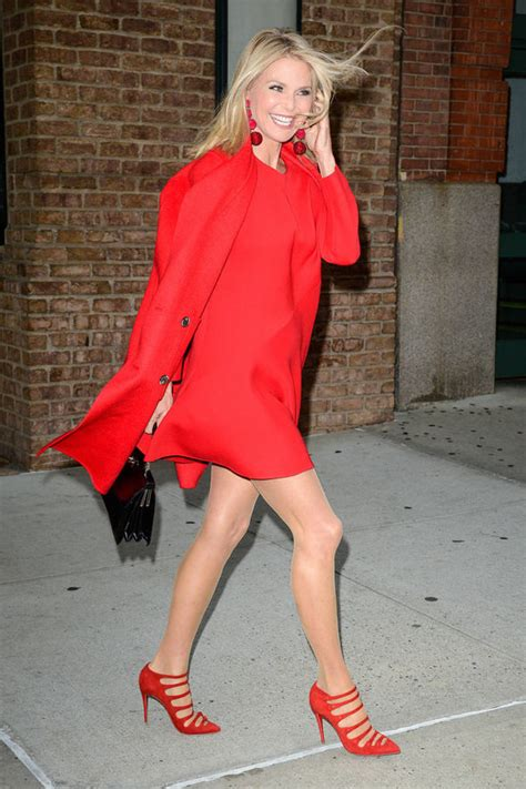 Dress Cristie christie brinkley 62 puts on seriously leggy display in