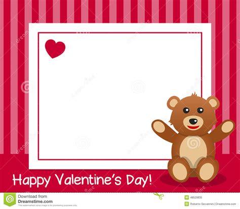 s day length teddy horizontal frame stock vector image
