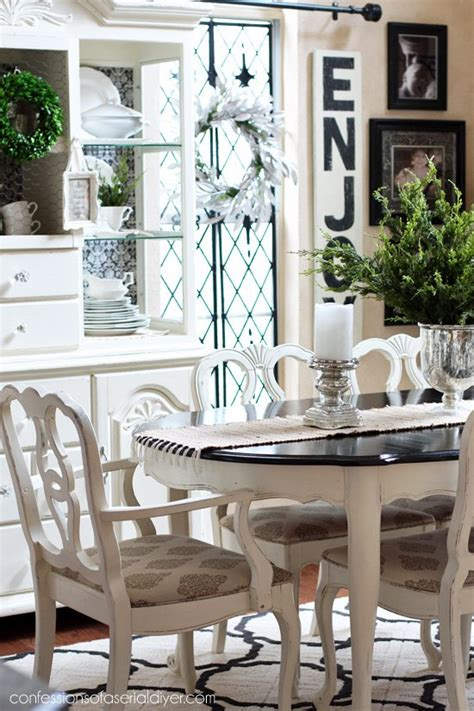 how to paint a dining room table with chalk paint dining room table makeover hometalk