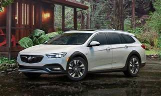 Buick Hatchback Buick Reshapes 2018 Regal Lineup With Hatchback Wagon