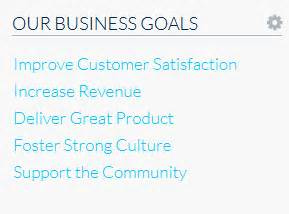 business goals and objectives template business goals like success