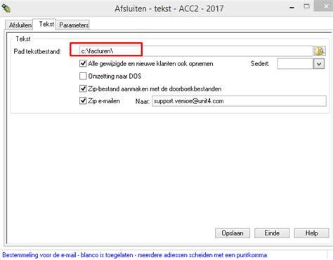 email layout php exporteren van de verkoopfacturen naar uw boekhouder