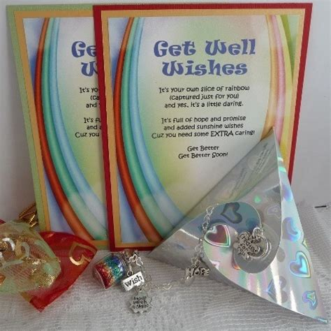 unique get well gifts rainbow from captured wishes