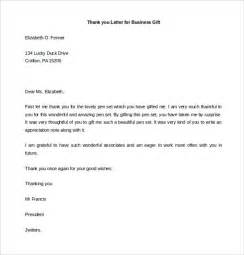 Business Letter Writing Thank You Business Thank You Letter The Best Letter Sle