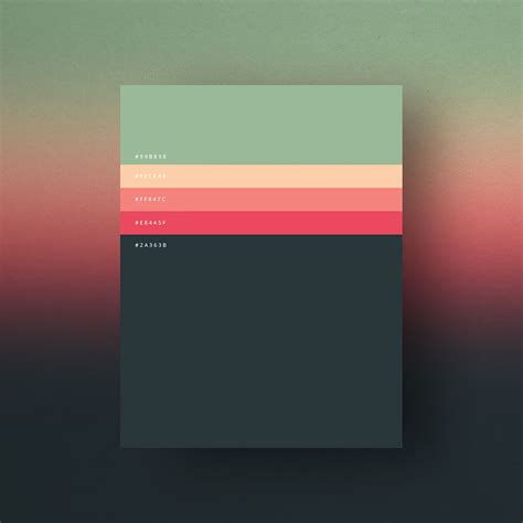 minimalist color palette 2016 most popular colors of 2015 shown in 8 simple palettes