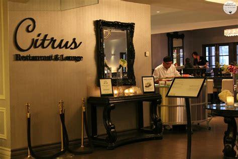 Citrus Kitchen Restaurant by Exquisite Dining At Citrus Restaurant In The Grand Hotel
