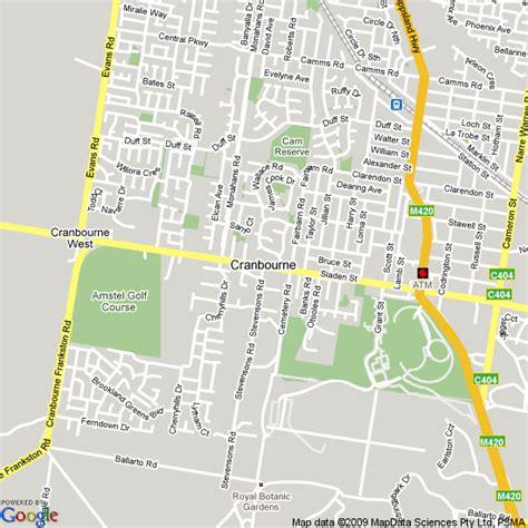Routes Cranbourne Line Public Transport Victoria Cranbourne Botanical Gardens Map