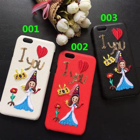 d g iphone7 7 plusケース 携帯カバー 刺繍可愛い ドルチェ ガッバーナ アイフォン6s 6splus 革製ハードケース iphone 7 7plusケース