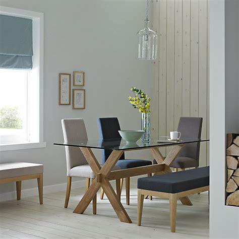 buy john lewis gene rectangular  seater dining table