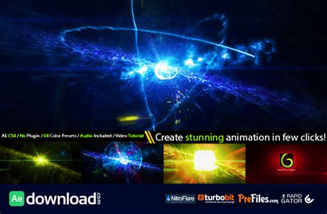 Cinematic Space Particles Explosion Logo Intro Videohive Project Free Download Free After After Effects Explosion Template Free