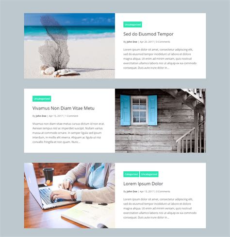 layout divi wordpress divi blog extras divi extended