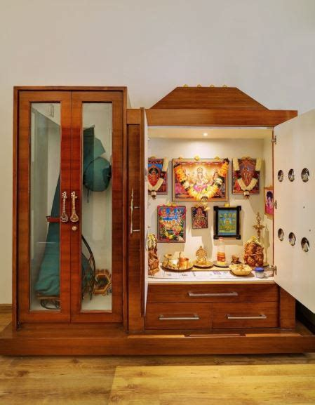 small pooja cabinet designs  ideas home makeover