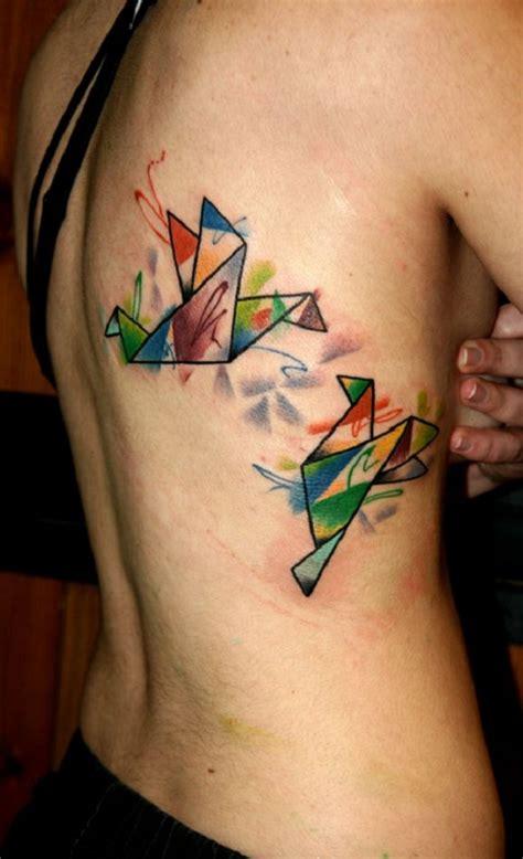 65 origami bird tattoos nenuno creative