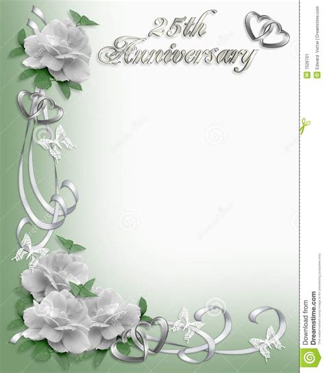 cadre card templates 25 232 me cadre d invitation d anniversaire illustration stock
