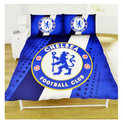 chelsea fc bedroom accessories chelsea football club double size duvet cover bedding set