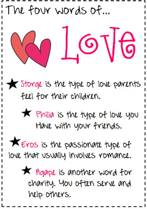 quotes different kinds of love