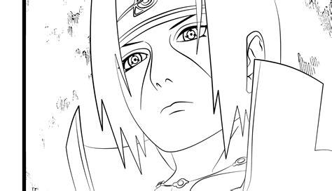 Pencil Kakashi Sai Anime ch380 pg16 lineart by thegamejc on deviantart