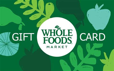 Where Can I Get A Whole Foods Gift Card - whole foods gift card free gifts offer