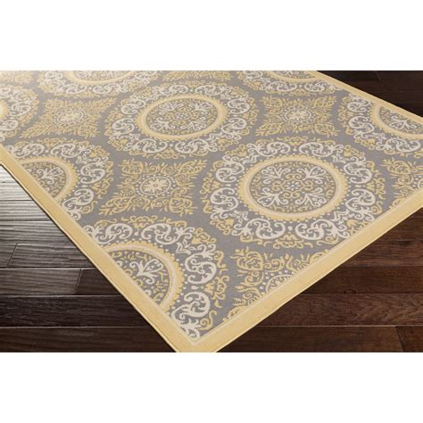 Area Rugs Yellow Charlton Home Osage Yellow Indoor Outdoor Area Rug Reviews Wayfair