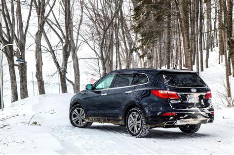 Winter Hyundai by Winter Test 2015 Hyundai Genesis And Santa Fe Xl Page 2