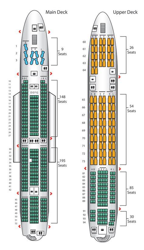 qantas a380 800 seating chart emirates a380 800 seating chart