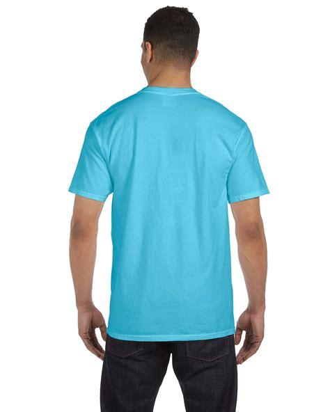 comfort colors pocket t shirts comfort colors 6 1 oz garment dyed pocket t shirt s 3xl m