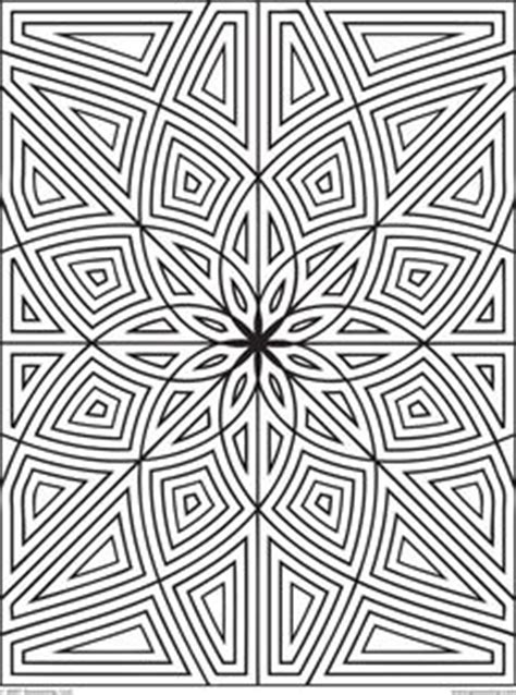 rectangle mandala coloring pages difficult geometric design coloring pages rectangles