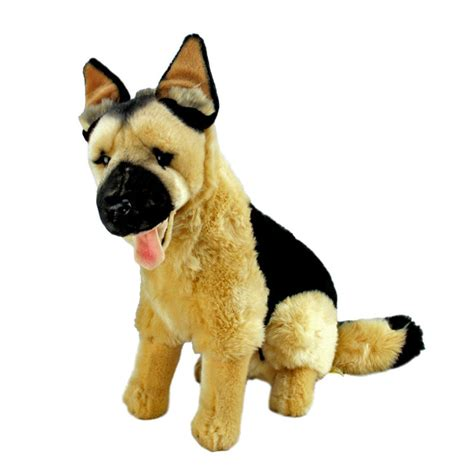 german shepherd puppy toys german shepherd alsation plush stuffed animal 15 quot 38cm new major ebay
