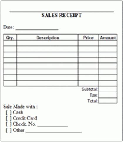 receipt template messenger 8 sales receipt templates word excel pdf formats