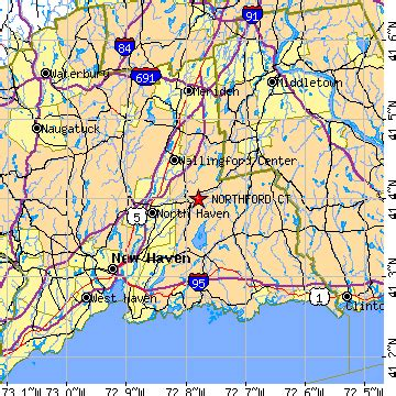 northford, connecticut (ct) ~ population data, races