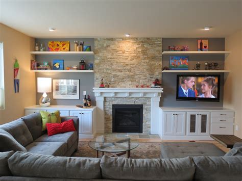 family room makeover amazing fireplace makeover decorating ideas