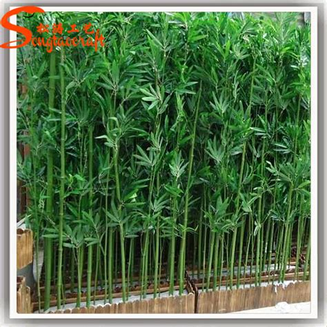 Cheap Trees - guangzhou supplier wholesale artificial plastic bamboo
