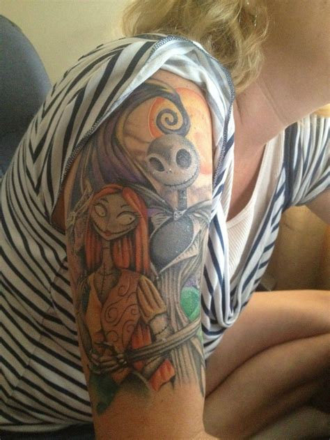 nightmare tattoo 20 nightmare before tattoos you ll totally want