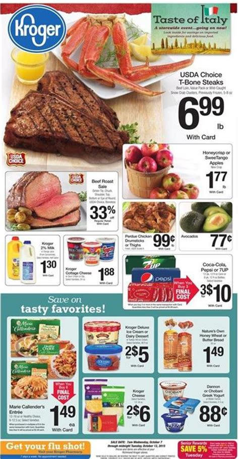 kroger commercial actress 2015 kroger weekly ad preview oct 7 2015