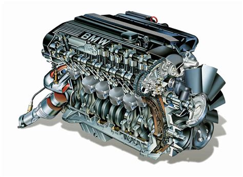 2002 BMW 5 Series Inline 6 Engine Picture / Pic / Image