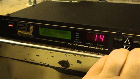 Digitec 3048 T 1 Digitech Gsp 21 Legend Guitar Signal Processor