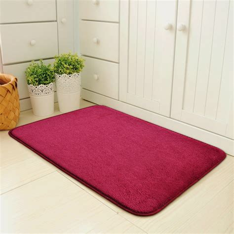 solid color kitchen rugs home doormat solid color door mats anti skid area rugs bathroom kitchen carpet ebay