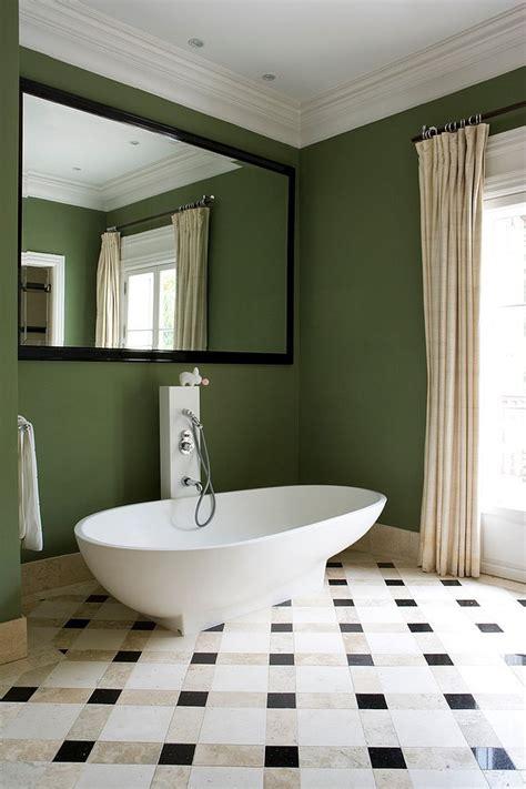 id233es d233coration pour une salle de bain verte