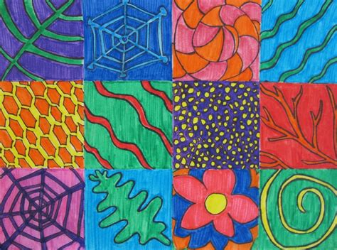 patterns in nature art activities andy warhol 5 patterns in nature 2nd grade art ideas