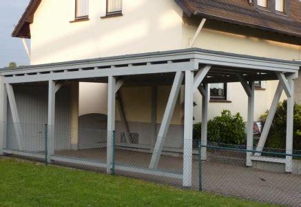 bau eines carports carport f 252 r sie gebaut dachdecker kantelberg