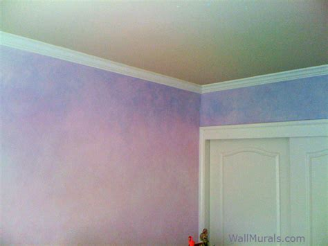 faux wall finishes examples  hand painted wall