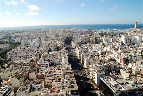 morocco city casablanca city in morocco sightseeing and landmarks